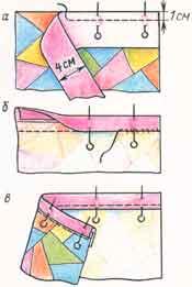 (рис. 5)Обтачивание срезов(способ 1)