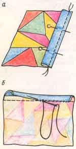 (рис. 7)Обработка срезов руликом