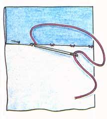 (рис. 8)Потайной шов