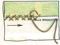 (рис. 9)Крестообразный шов